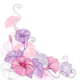 Stylish abstract floral background. Design of Royalty Free Stock Photos