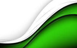 Stylish abstract green background. Vector Illustration Stock Images