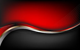 Stylish abstract red background. Vector Royalty Free Stock Photos