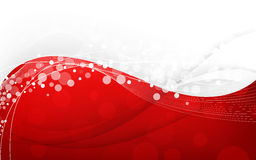 Stylish abstract red background. Vector Illustration Royalty Free Stock Image