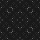 Stylish abstract repeat background with tiny circles in square form. Royalty Free Stock Images