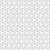 Stylish Abstract Unique Simplicity Elegance Hexagonal Gray Seamless Stripe Pattern. Stylish Abstract Unique Simplicity Elegance Stock Image