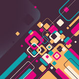 Stylish abstraction in color. Stock Images