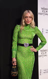 Stylish Actor Chloe Sevignyat `The Dinner Premiere at 2017 Tribeca Film Festival Royalty Free Stock Images