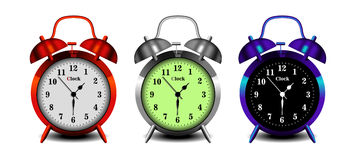 Stylish alarm clock Stock Images