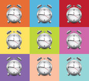 Stylish Alarms Stock Images