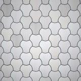 Stylish Aluminum Background. 3D illustration royalty free illustration