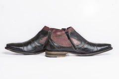 Stylish ankle boots Royalty Free Stock Photography