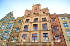 Stylish apartment houses on Long Square in Gdansk, Royalty Free Stock Photo