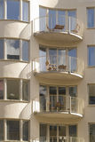 Stylish apartments. Stylish modern apartments in Stockholm, Sweden Royalty Free Stock Image