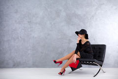 Stylish, as usual Stock Images