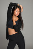 Stylish asian young woman Royalty Free Stock Images
