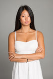 Stylish asian young woman Royalty Free Stock Photos