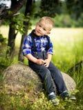 Stylish baby boy Stock Images