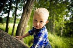 Stylish baby boy Royalty Free Stock Image