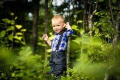 Stylish baby boy Stock Image