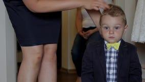 Stylish baby. stock video footage