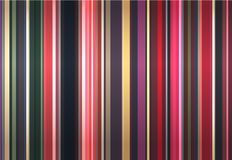 Stylish background from color strips Stock Photography