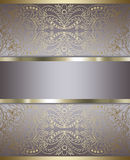Stylish background  gold Royalty Free Stock Photo