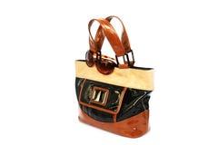Stylish Bag And Sunglasses Royalty Free Stock Photo