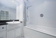 Stylish bathroom Stock Images