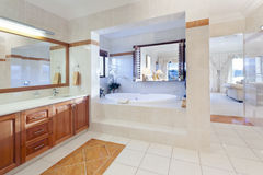 Stylish bathroom Stock Photography