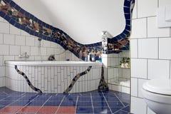 Stylish bathroom royalty free stock image