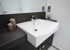 Stylish bathroom detail Stock Photo