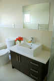 Stylish bathroom interior Royalty Free Stock Photo
