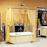 Stylish bathroom interior Royalty Free Stock Photography