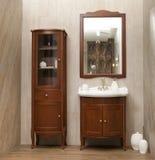 Stylish bathroom in luxury modern house. Stylish designed bathroom in luxury modern house stock photo