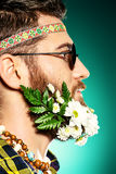 Stylish beard Stock Photography