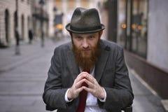 Stylish Bearded Man Royalty Free Stock Images