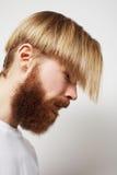 Stylish bearded man Royalty Free Stock Photo