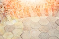 Stylish beautiful background tile stairs on the nature of the sea. A Stylish beautiful background tile stairs on the nature of the sea royalty free stock photo