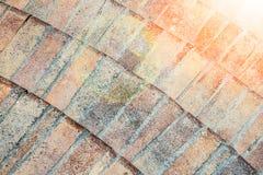 Stylish beautiful background tile stairs on the nature of the sea. A Stylish beautiful background tile stairs on the nature of the sea stock photography
