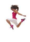 Stylish beautiful dancer posing Stock Photos
