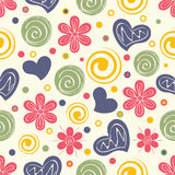 Stylish beautiful seamless pattern design. Stock Photos