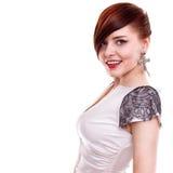 Stylish beautiful woman portrait Stock Images