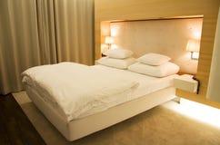Stylish bedroom Stock Image