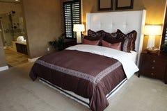 Stylish bedroom Stock Photos