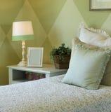 Stylish bedroom Royalty Free Stock Image