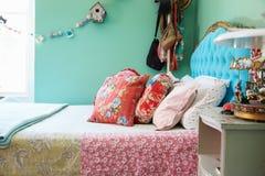 Stylish bedroom interior, detail Royalty Free Stock Photo