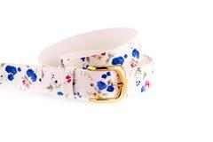 Stylish belts Royalty Free Stock Photos