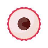 Stylish Berry Isolated On White Background Royalty Free Stock Photography