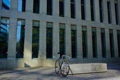 Stylish bicycle for man Stock Photo