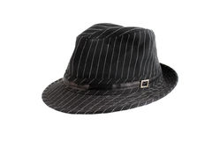 Stylish black hat Stock Image