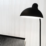 Stylish black lamp Royalty Free Stock Photos