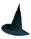 Stylish black party hat Royalty Free Stock Photos