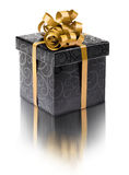 Stylish black present box Stock Photo